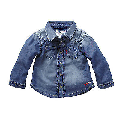 Levi's Kidswear Long Sleeved Denim Shirt - Jany