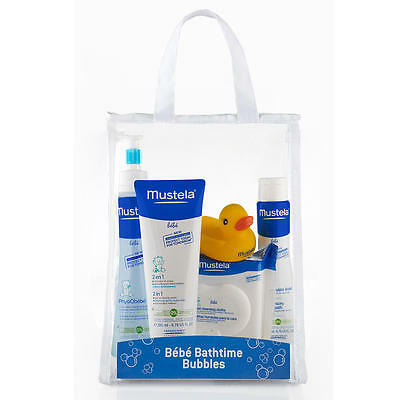Mustela Bebe Bath Time Bubbles Essentials 5 Piece Set