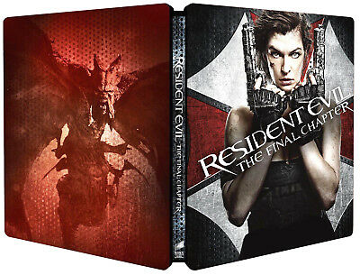RESIDENT EVIL: The Final Chapter - EDIZIONE STEELBOOK (BLU-RAY)