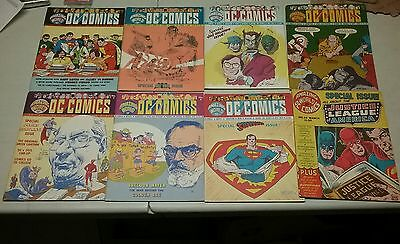 Amazing World of DC Comics Lot (#2-8, 14)