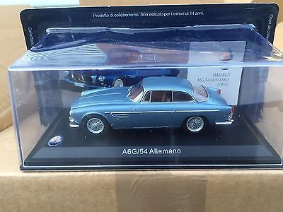 """Die Cast """" A6G/54 Allemano """" Maserati 100 Years Collection Scala 1/43"""