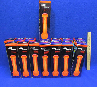 15 NOS 3 in 1 Travel Safety Beacons Lights Flashlight Road Tripod Flashing Red