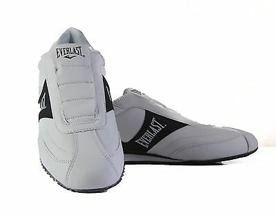 Mens Everlast Tempo White Black Casual Athletic Sneakers Gym Men's Slip On Shoes