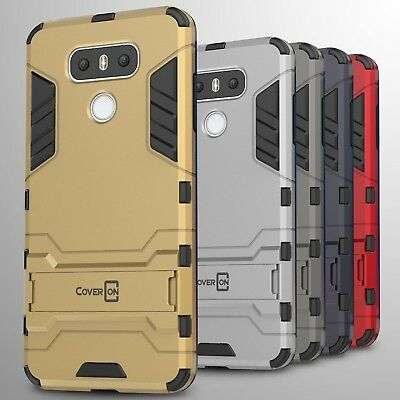 For LG G6 / G6 Plus Case Hard Kickstand Protective Slim Phone Cover