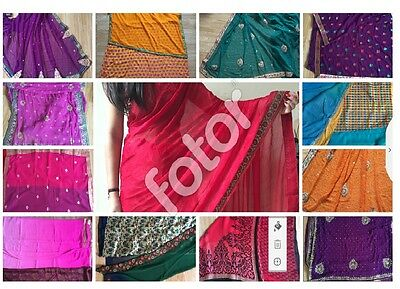 2017 Bollywood Style Indian Traditional Sari Sarees Designer Party Wear