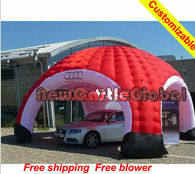 custom made Giant Waterproof popup inflatable dome shelter commercial Tent arch