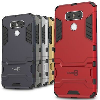 CoverON for LG G6 / G6 Plus Case Hybrid Stand Armor Kickstand Slim Phone Cover