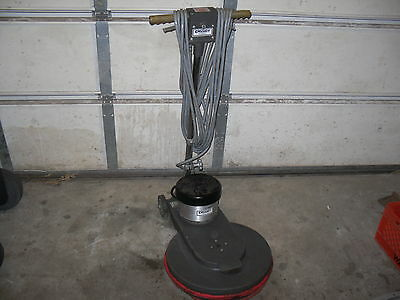 "Cassidy Floor Burnisher Model CX-1500  Pacific Steamex 19"" Pad machine polisher"