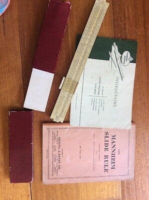 Vintage Slide Rule, Booklets and Ephemera