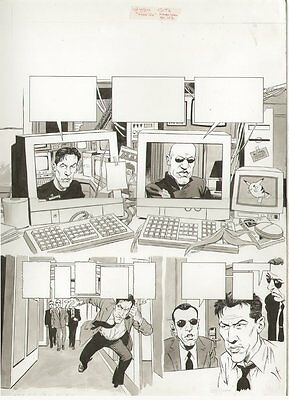 MAD Magazine #384 Six Page Story - LA - The Matrix Spoof art by Angelo Torres