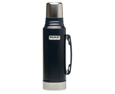 STANLEY Classic 1L Vacuum Insulated Flask - Hammertone Navy