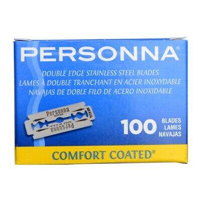 Personna Lab Blue Super Stainless Comfort Coated Double Edge Safety Razor Blades