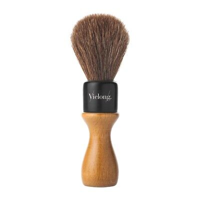 Vie-Long Horse Hair Shaving Brush with Wooden Handle #04502