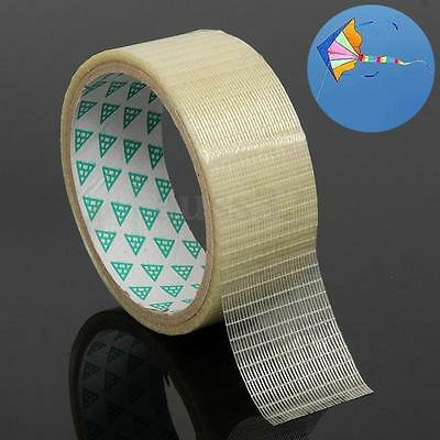 3.5cmx5m One Roll Transparent Film Grid Waterproof Kite Repair Patch Tapes