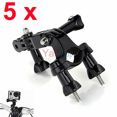 5X Bike Handlebar MOUNT for Gopro Hero 3 2 1 HD Camera Seatpost Pole Roll Bar