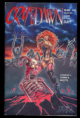 Cry For Dawn #1 Volume 1 1St Appearance Dawn Joseph Linsner & Monks 1St Print