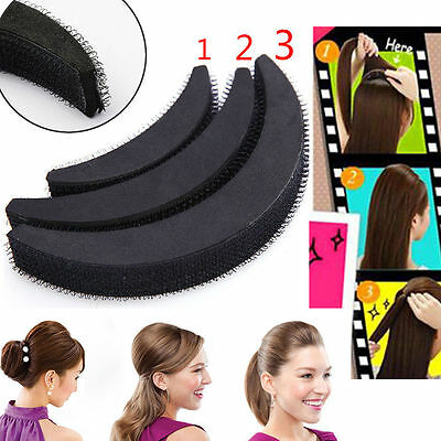 Hair Volume Boost Invisible Sponge Base Fluffy Bump Up Puff Insert Foam Pad ES