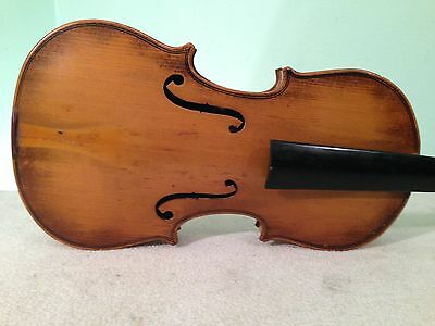 Early 1900s GERMAN STRADOVARIOUS 3/4 FINE VIOLIN QUALITY PROJECT #2