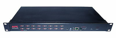 APC AP5202 16-Port High-Density KVM Switch With Rack-Mount Ears