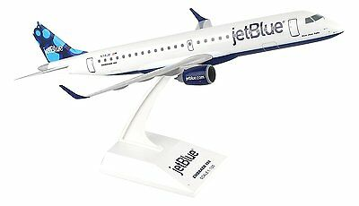 Skymarks SKR851 Jetblue Embraer ERJ-190 Desk Display 1/100 Jet Model Airplane