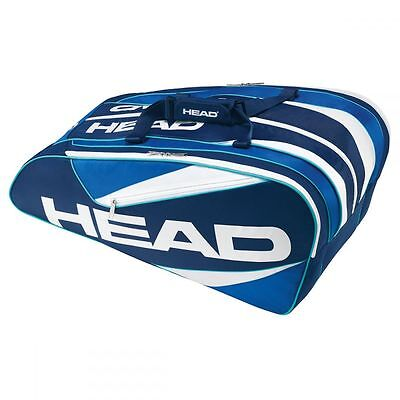 Head Elite 12R Monstercombi Tennistasche blau NEU UVP 59,95€