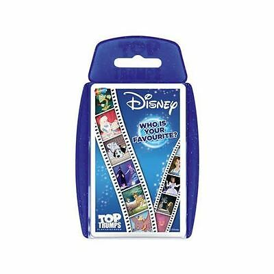 Top Trumps Disney Who Is Your Favourite? Brand New Card Games Travel Games Girls