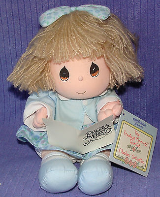 Precious Moments Quartet Musical Doll Jenny 16653 Vintage 1990 Samuel J Butcher