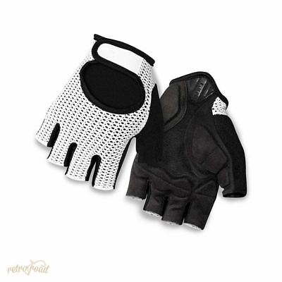 Giro Siv Road Cycling Mitts - White
