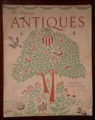 Augus 1949 The Magazine Antiques