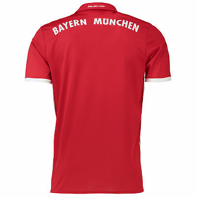 adidas Mens Gents Football Soccer Bayern Munich Home Shirt Jersey 2016-17