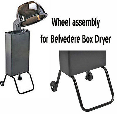 Belvedere Portable Mega Box Hair Dryer Wheel Assembly HD-17009
