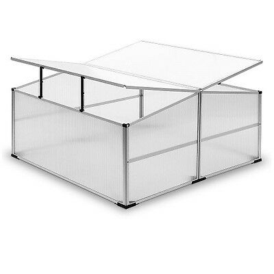 Large Cold Frame Greenhouse Polycarbonate Mini Garden Hothouse Plant Grow House