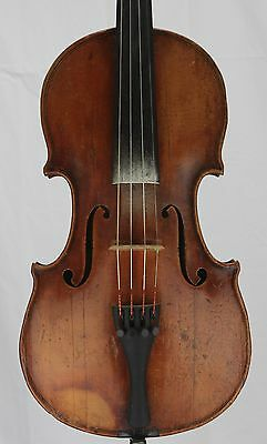 Nice old antique 4/4 Violin Markneukirchen Oscar Bernard Heinel 1929
