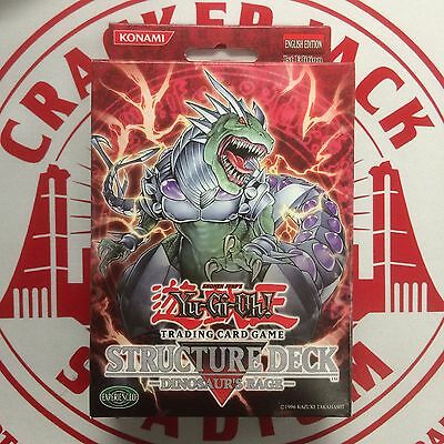 Yu-Gi-Oh - DINOSAUR'S RAGE 1st Edition Structure Deck NEW Sealed