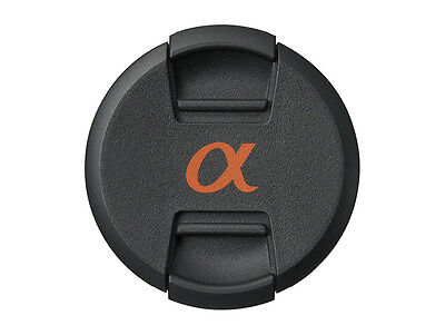 ALC-49 Centre Pinch Lens Cap for Sony Alpha Lenses with 49mm filter thread - UK