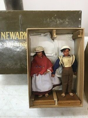 Vintage Bolivian Folk Dolls - Provenance From Newark Museum Collection
