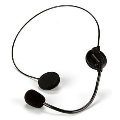 Microphone Prop Costume Headset Pop Singer Telemarketer Toy Mic Accessory