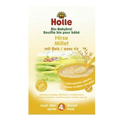 Holle Organic Porridge Millet with Rice Baby Cereal FREE SHIPPING