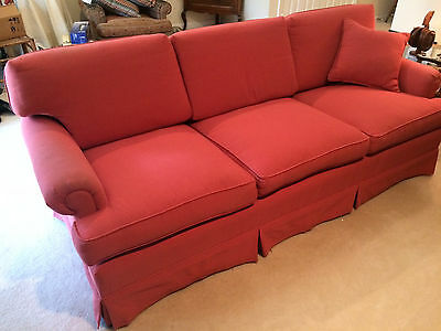 HICKORY CHAIR CO. SOFA COUCH Reupholstered Smoke, Stain and Bug Free! USED
