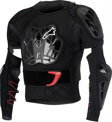 ALPINESTARS BIONIC TECH JACKET BLACK/WHITE/RED L 6506516-123-L Motocross