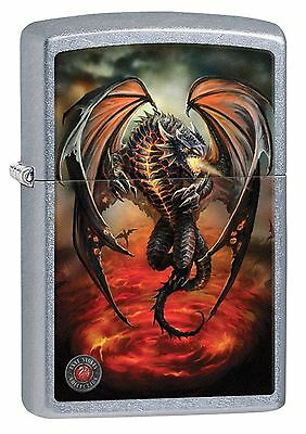 Zippo Windproof Anne Stokes Dragon Lighter, 29349, New In Box
