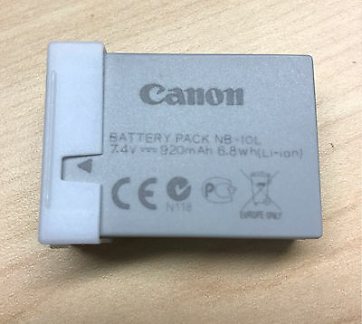 New Genuine Canon NB-10L Li-Ion Battery for Canon PowerShot Cameras