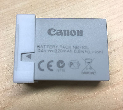 New OEM Canon NB-10L Li-Ion Battery for Canon PowerShot Cameras
