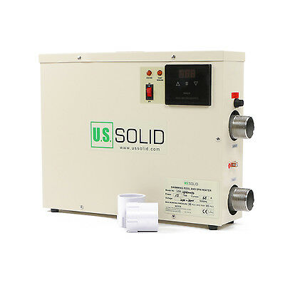 U.S.Solid® 15KW Electric Water Heater for Swimming Pool & Home Bath SPA Hot Tub