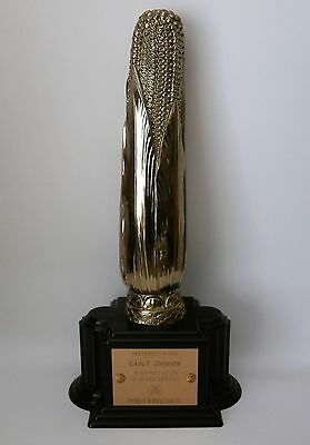 Rare HTF Vintage 1964 Pioneer Hi-Bred Corn Co. 15 Years Service Award Ear Trophy