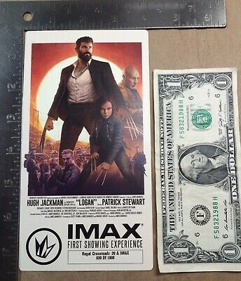 LOGAN Regal IMAX First Showing Collectible Ticket Hugh Jackman X-23 Wolverine