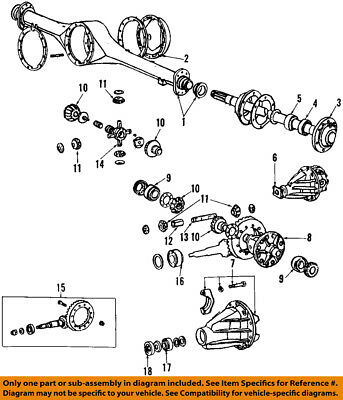 TOYOTA OEM Axle Differential-Rear-Axle Shaft Gasket 4342260040