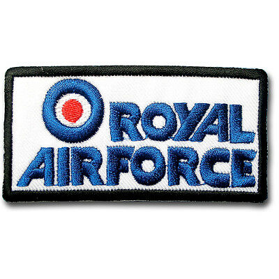 c1b84127d48 Royal Air Force Army Patch Iron On RAF Military Aircraft Badge Fighter Sew  Logo