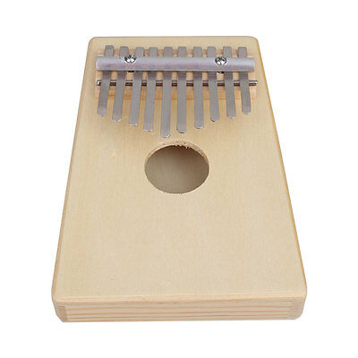 10 Key Finger Thumb Pocket Piano Kalimba Mbira Education Musical Instrument
