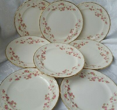 "Pope Gosser Florence Bread&butter  Plates 6 1/4""  Set Of 8"